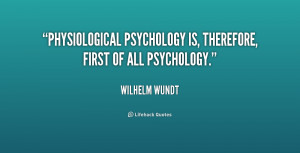 Wilhelm Wundt Quotes
