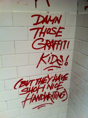 The Art of Bathroom Graffiti