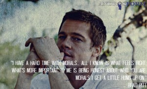 Brad Pitt Quotes About Love Knows who brad pitt is.