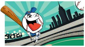 Mr Met Logo Vector Mr met mets baseball mascot by mattcandraw