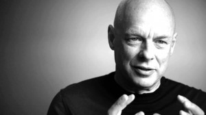 "Brian Eno seeks to make music that ""could be listened to and yet ..."
