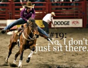 barrel racing #funny #true #underestimating #redneck woman