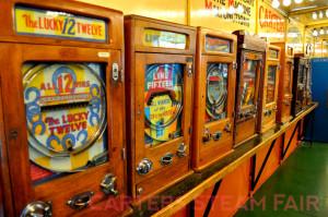 Vintage Penny Arcade Machines