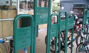 powell s bookstore s bike rack anne marije rook ever noticed the bike ...