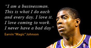 Magic Johnson Quote image