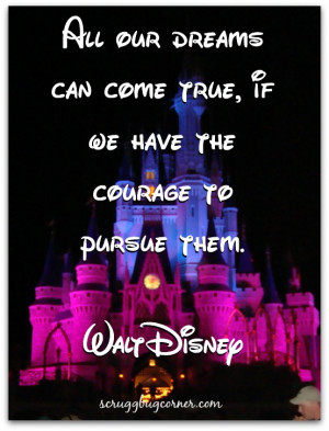 Motivational Quotes about Dreams from Walt Disney
