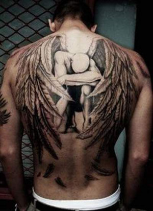 fallen angel #tattoos #tattoo
