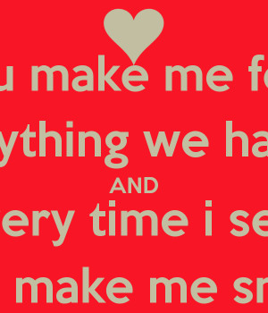 Related Pictures he makes me smile love quotes graphic