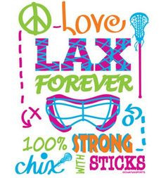 is girls lacrosse fun colorful strong and forever more girls lacrosse ...