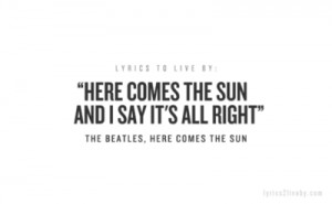 beatles, comes, depression, help, here, i, inspiration, inspirational ...