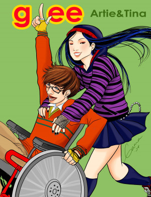 Glee Tina And Artie Padfootlestrange Deviantart
