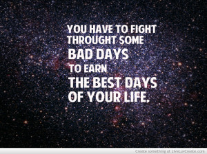 life, inspirational, fighter, sayings, quotes - inspiring picture on ...