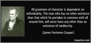 More James Fenimore Cooper Quotes