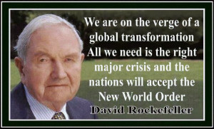 Rockefeller - New World Order Quotes