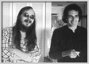 Walter Becker Donald Fagen Founders Of Steely Dan