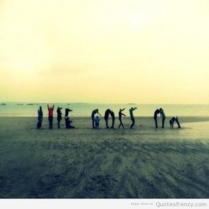 life goes on typography photography beach sun summer love Quotes