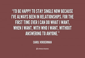 Single And Happy Quotes Preview quote