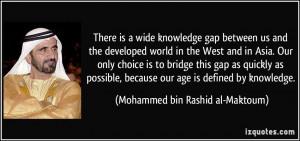 More Mohammed bin Rashid al-Maktoum Quotes