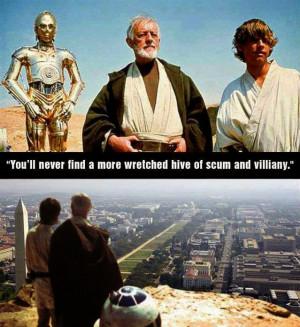 Washington D.C.: Wretched Hive of Scum and Villainy