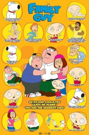 FAMILY GUY - quotes 3 Poster | Sold at Europosters
