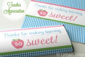 Teacher Appreciation Week Printables!