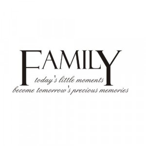 family memories quotes