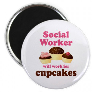 ... Gifts > Funny Occupation Magnets > Funny Social Worker Magnet