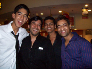 Amit Leonard, Dev Patel, Madhur Mittal and Anjum Sharma at event of ...