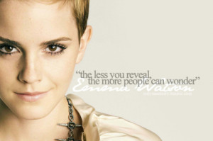 Emma Watson Quotes Emma watson: feminist role