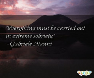 ... sobriety gabriele nanni 104 people 100 % like this quote do you
