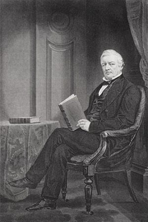 Millard Fillmore, Zachary Taylor's vice president, became the 13th ...