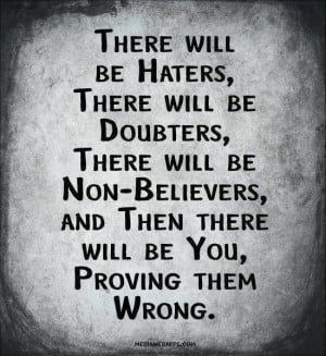 hater #inspirational #quote