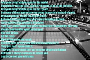 cute swimming quote