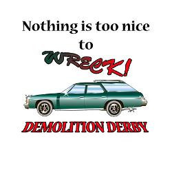 too_nice_to_wreck_greeting_cards_pk_of_10.jpg?height=250&width=250 ...