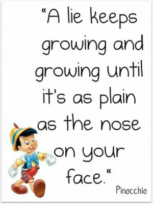 Pinocchio ~ quote