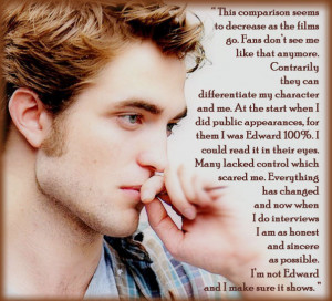 ... robert pattinsons quotes which are your favorite quote robert is an