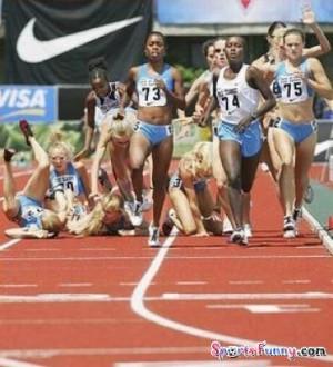 Funny Running !