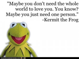 Kermit the Frog on Love