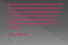 secondary to special education to technical and higher education and ...