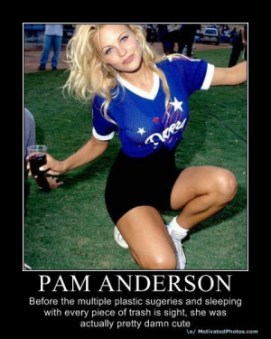 Pamela Anderson: before the multiple plastic surgeries and sleeping ...
