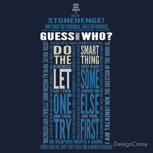 Doctor Who TARDIS Quotes shirt - Eleventh Doctor
