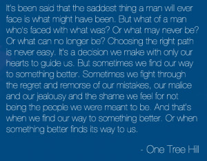 22 notes / 3 years ago / TAGS: One Tree Hill graphic text quote death