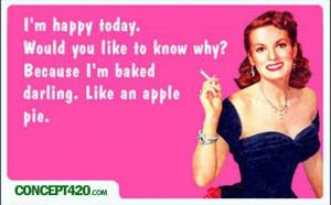 baked like an apple pie