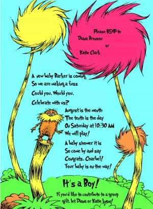 Dr Seuss Quotes The Lorax