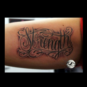 strength quotes tattoo ideas