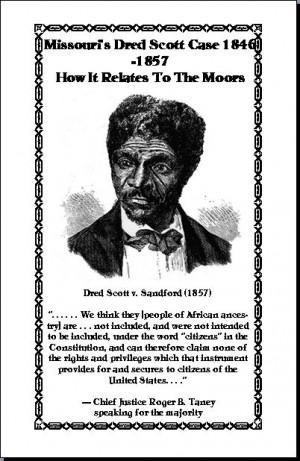 The Dred Scott Case 1846-1857