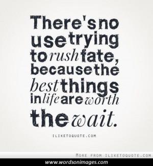 Fate quote