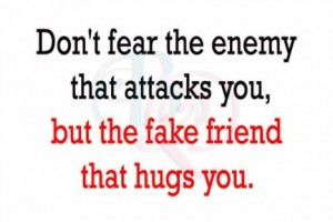 Friends That Hug You Quote