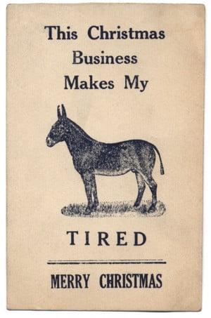 ... Funny (Printable) Christmas Cards, incl. Many Vintage Xmas Greetings