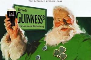 Guinness' very own Irish Santa Photo by: Saturday Evening Post